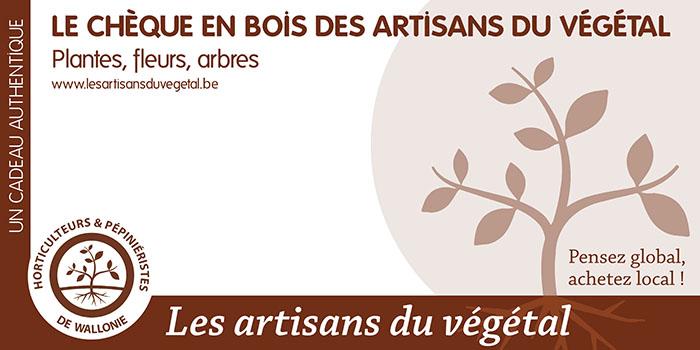 Offrez un Chèque en bois\' – Les artisans du vegetal